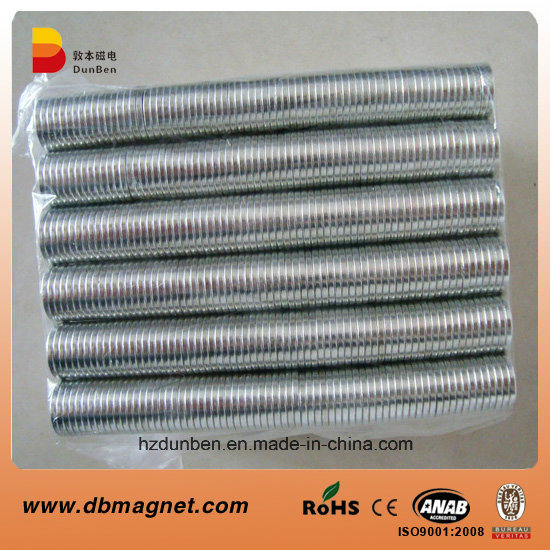 Disc Rare Earth Neodymium Magnet with SGS Certification