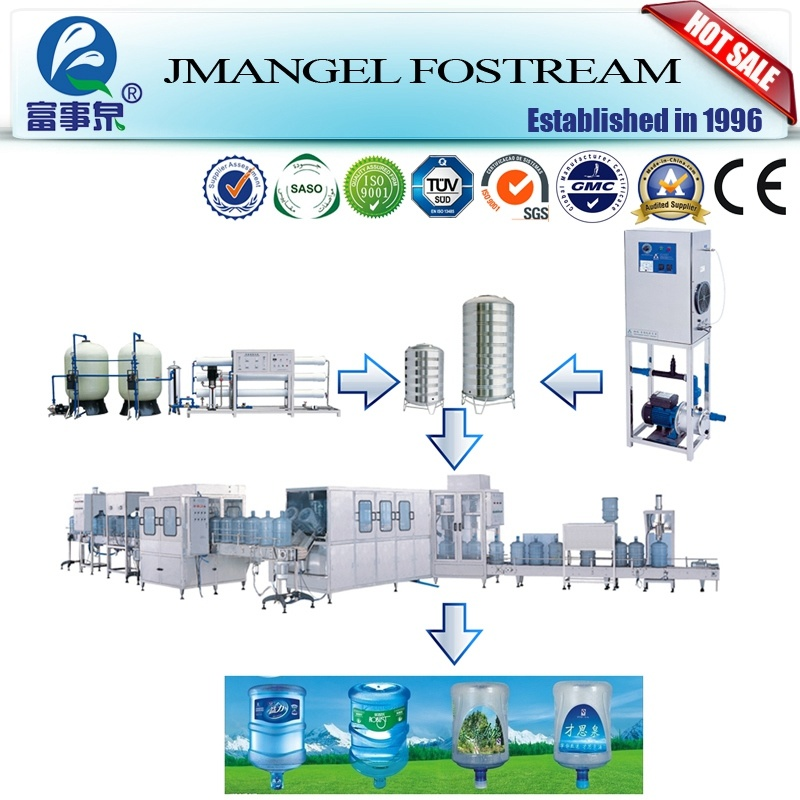 China Supplier Accurate 3 Gallon Filling Machine