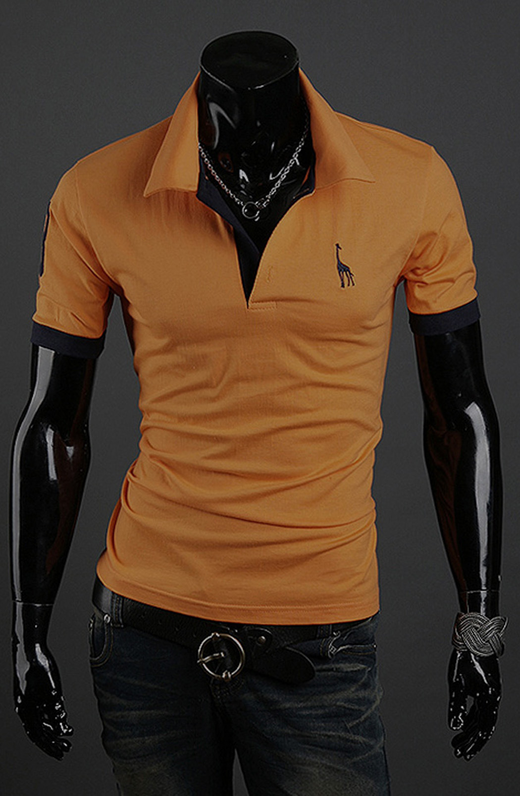 Wholesale Man Golf 100% Cotton Polo T Shirt for Men (A305)