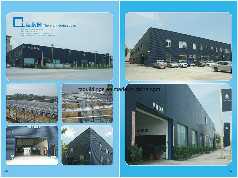 High Quality Steel Structure Showroom Design