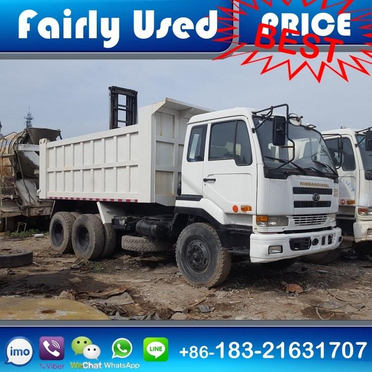 Japan Used Nissan Ud Dump Truck