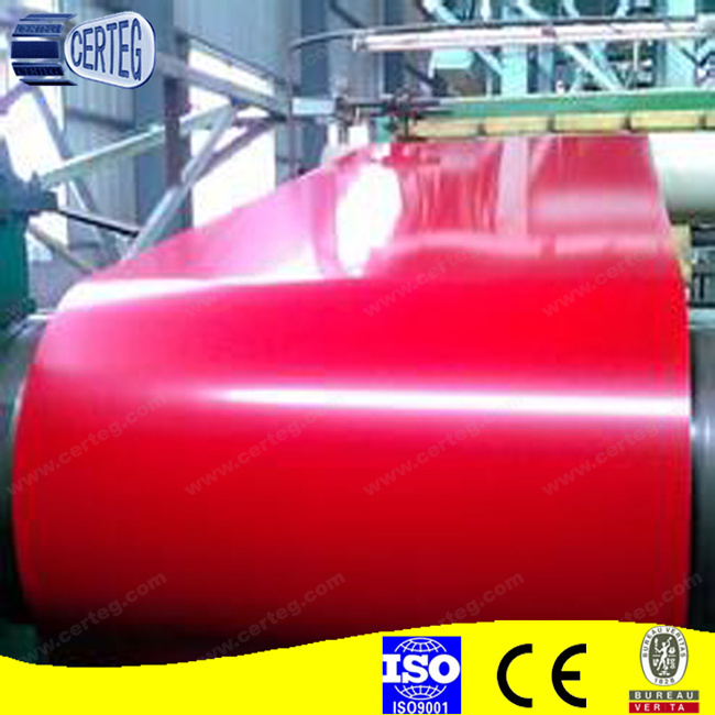 Hot Sale Color Coated Galvanized Steel Coil for Building Material