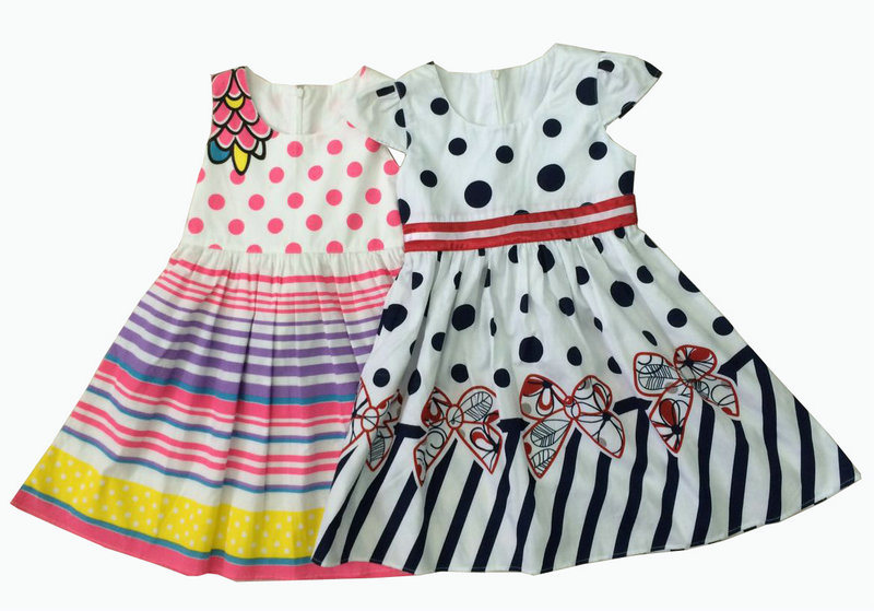 Popular Skirt for Girl, Fashion Children Clothing (SQD-130-131)