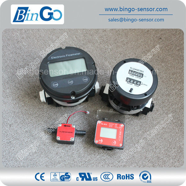 Diesel Flow Meter, Oval Gear Flow Meter for Oil, Fuel
