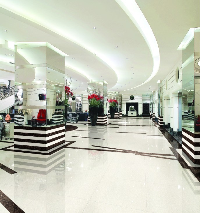 Popular Design White Crystal Double Loading Building Material Polished Porcelain Ceramic Floor Tiles