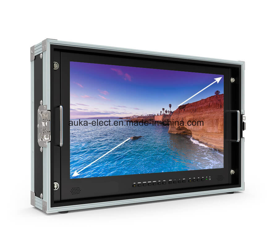 "23.8"" Carry-on 4k Broadcast Director Monitor with Sdi/HDMI/VGA/DVI Inputs"