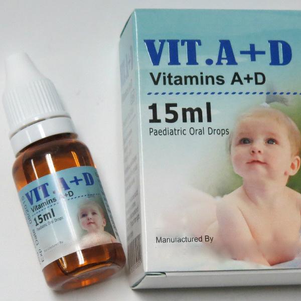Vitamin Ad Drops for Kids