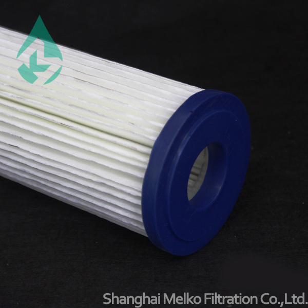 High Water Flow Capacity Pleated Filter cartridge
