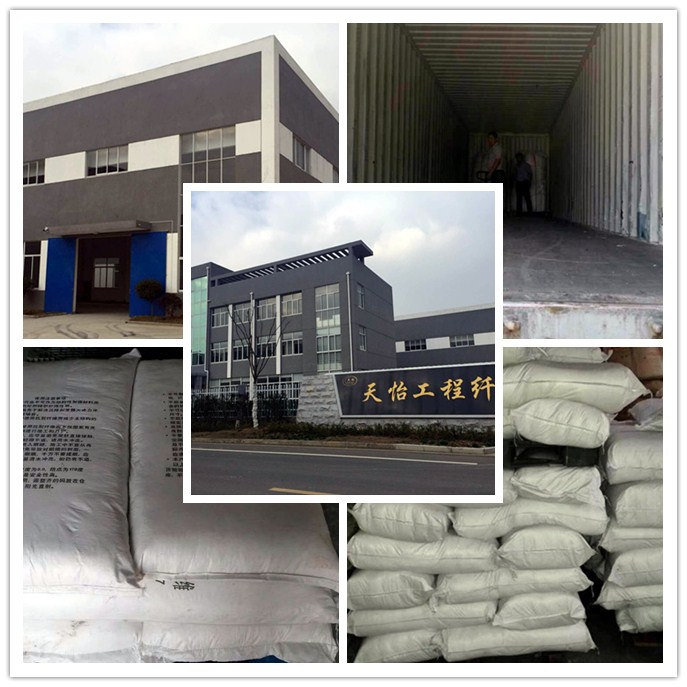 Polyvinyl Alcohol Fiber Building Materials for Concrete Slabs etc. PVA Fibres