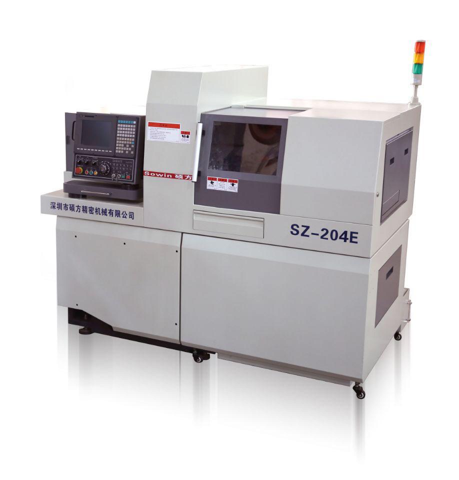 Swiss Type CNC Automatic Lathe Dual Spindles Sz-204e