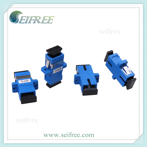 Sc/Upc Adaptor Type Female to Female Fiber Optic Attenuator