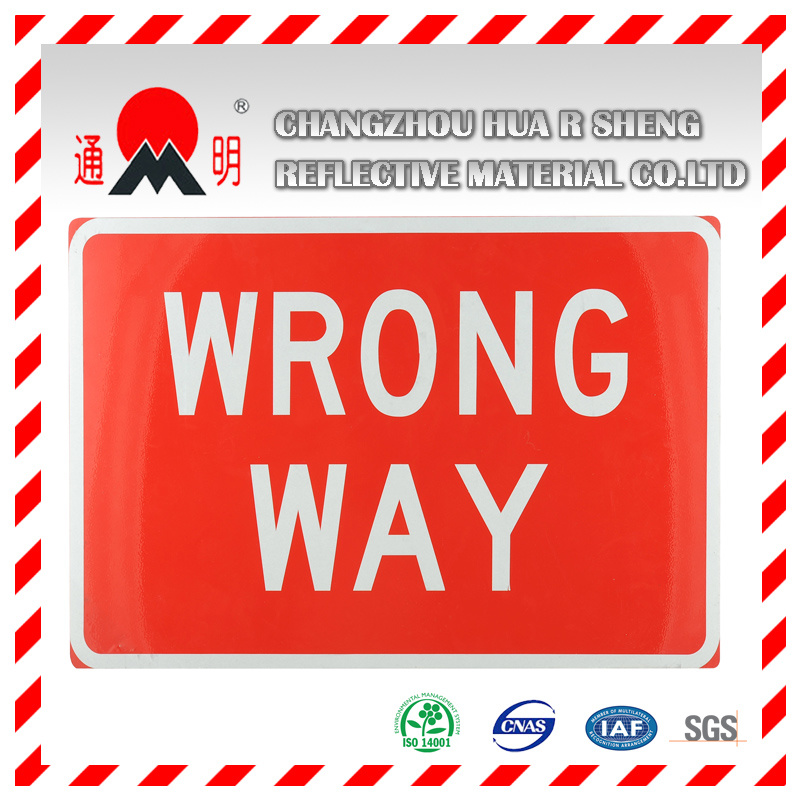 Engineering Grade Reflective Sheeting Material for Road Traffic Signs Guiding Signs