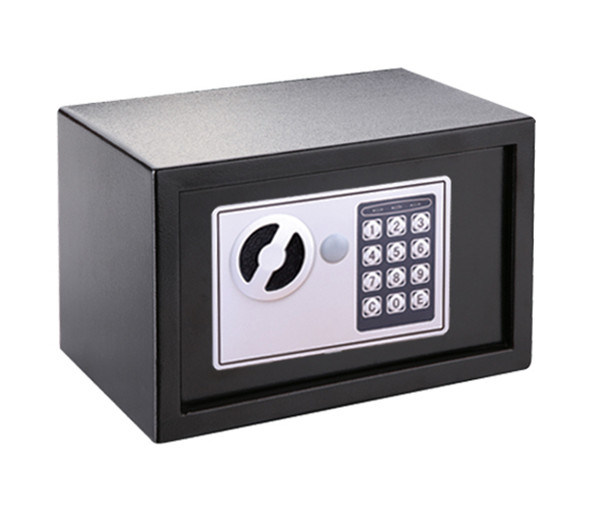 Electronic Safe with Mechanical Overide