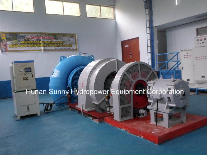 Hydro (Water) Francis Turbine-Generator Sfw-500 500kw Low Voltage0.4kv/ Hydropower Alternator