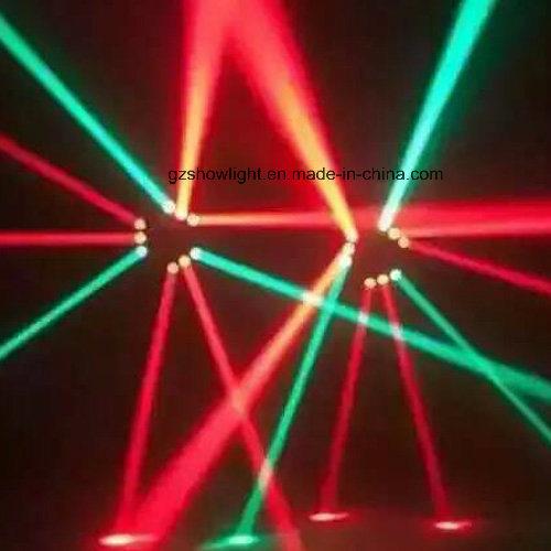 9PCS*10W CREE RGBW Mini 4in1 Triangle Moving Head Spider Light
