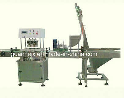 Automatic Vacuum Capping Machine for Glass Jars & Bottles