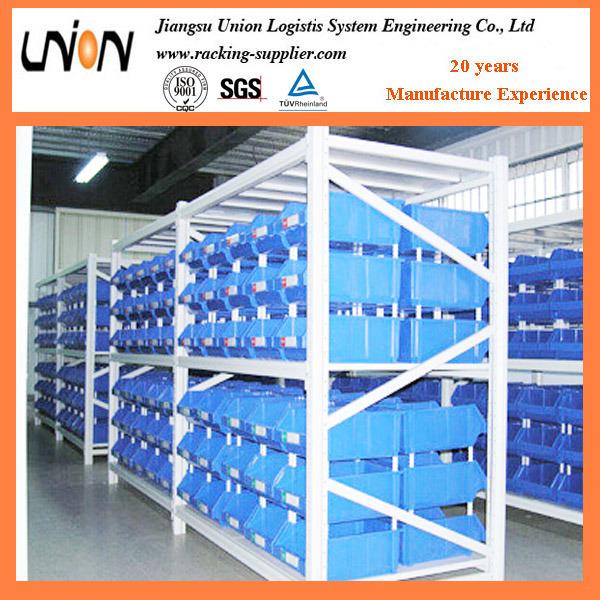 Industrial Warehouse Multi-Level Longspan Shelving