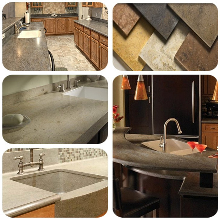 Workshop Countertop Materials : Countertop Material Artificial Stone Veining Solid Surface