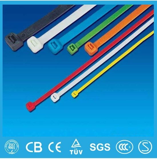 Self-Locking Plastic Cable Tie (Nylon cable tie manufacturer) Wholesale in China White Color