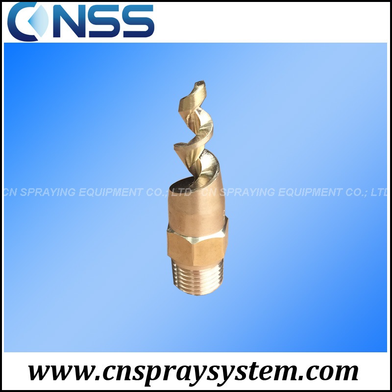 Brass Spjt Spiral Nozzle for Fire Fighting