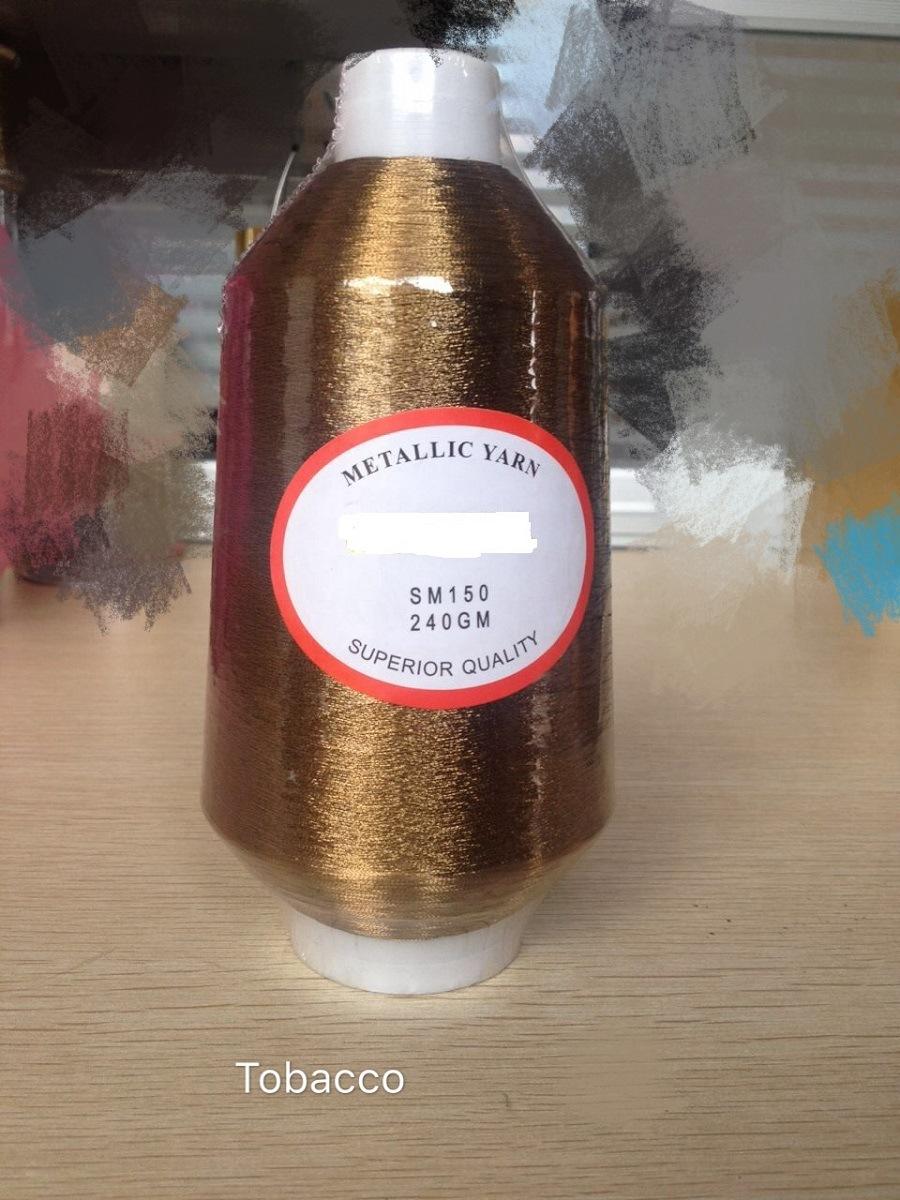 Tobacco Ms/St Metallic Yarn