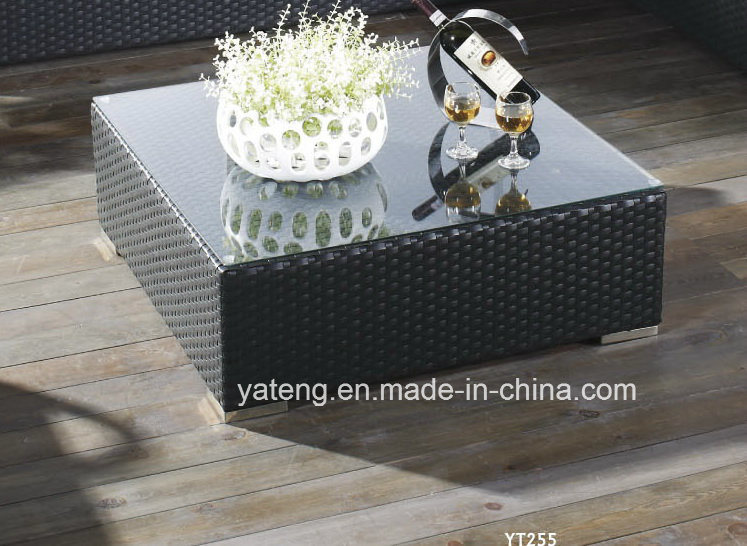 Foshan New Design Commercial Corner Rattan Sofa Using Outdoor or Garden (YT255)