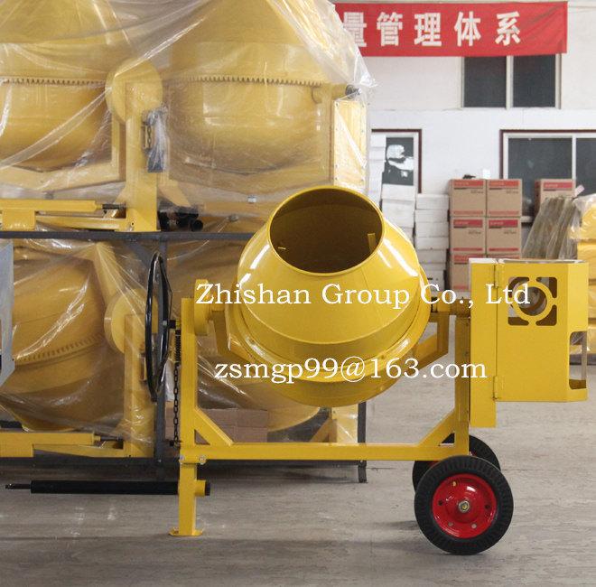 Cm320 (CM50-CM800) Zhishan Electric Gasoline Diesel Portable Cement Concrete Mixer