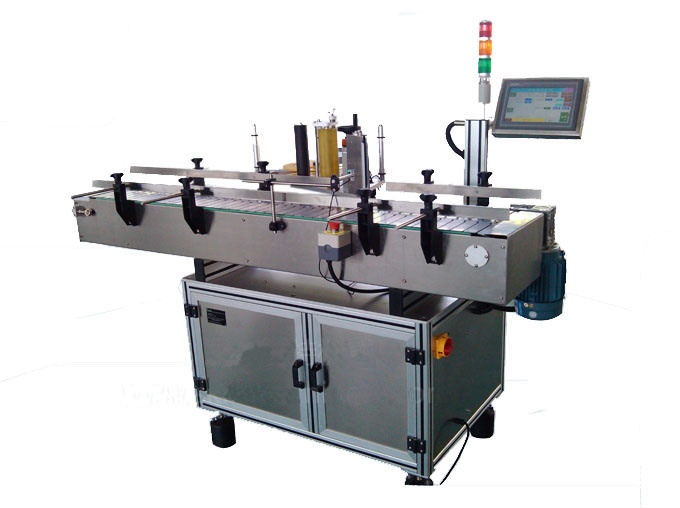 Full Automatic Glass Round Bottle Adhesive Stick Labeling Machine