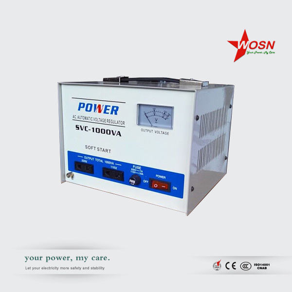 Automatic Voltage Regulator 220V 1000W Static Servo Stabilizer