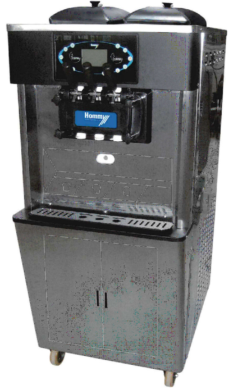 Ice Cream Machine Hm716-G with CE ETL Certificate