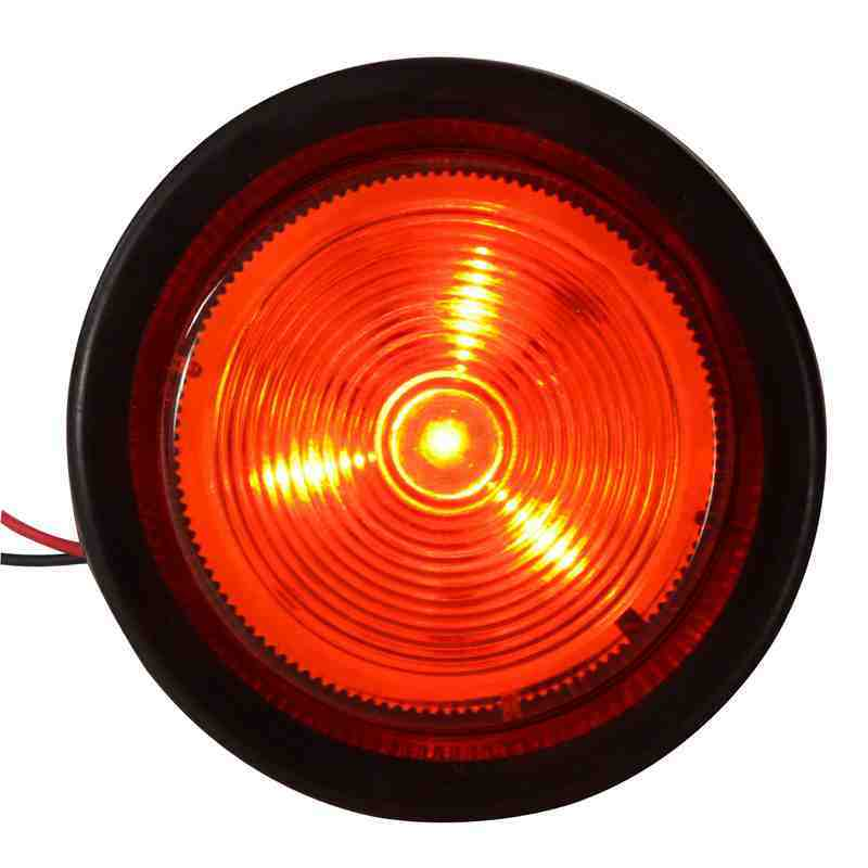 "LED 2.5"" Round Clearance Side Marker Light (TK-TL102)"