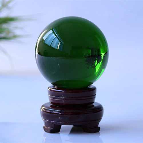 Home Decoration Custom Crystal Glass Ball (KS2014003)