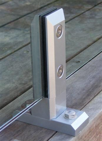 Swimming Pool & Garden Farmeless Glass Balustrade Spigot (CR-A09)
