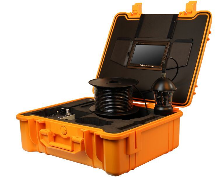 Deep Well Inspection Camera with 50mm Camera Lens, 7′′ / 15′′ LCD, 300m Testing Cable