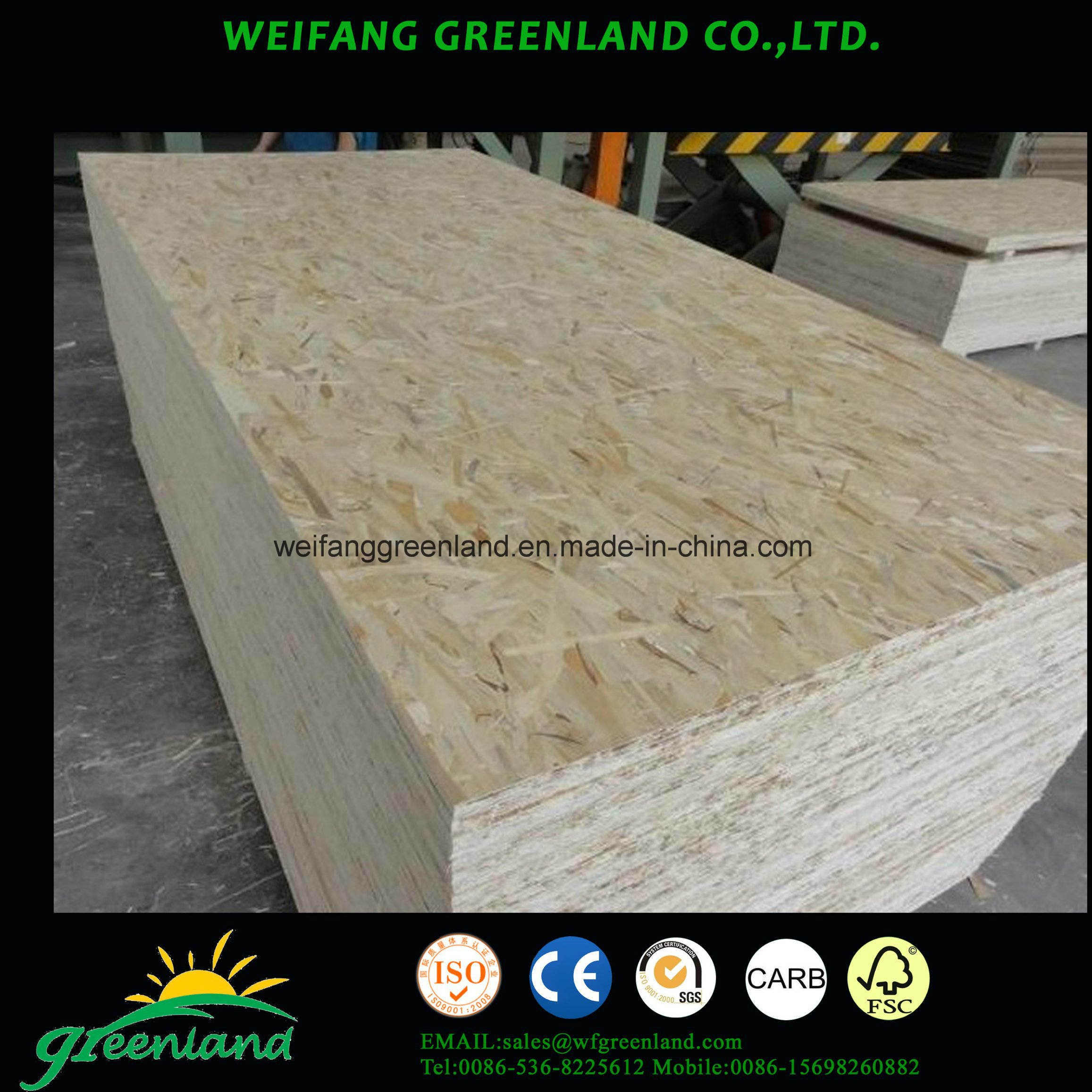 Good Quality OSB Board Oriented Stand Board)