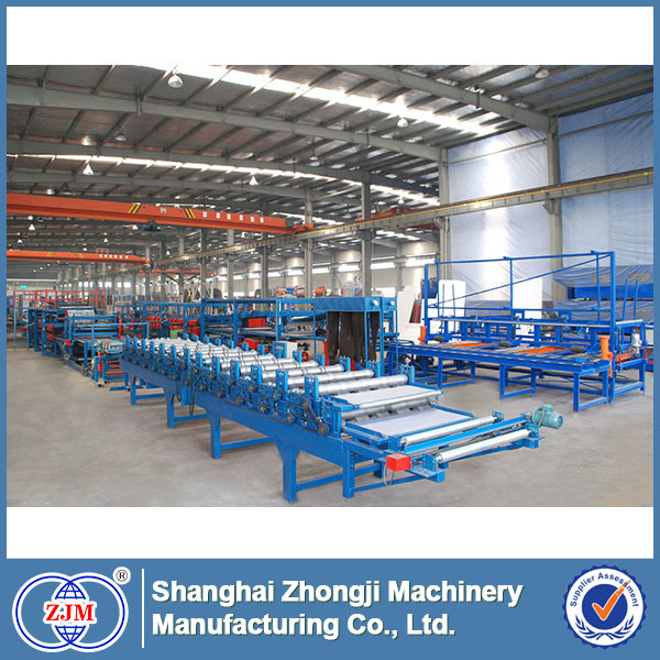EPS/Mineral Wool Sandwich Panel Production Line (SP-7)