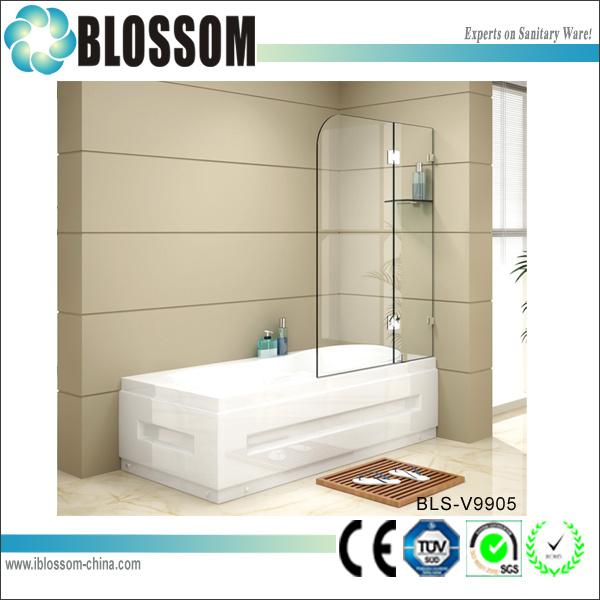 Modern Bathroom 10 Mm Tempered Portable Glass Bath Shower Screens
