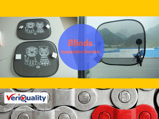 Blinds Quality Control Service /Preshipment Inspection Service