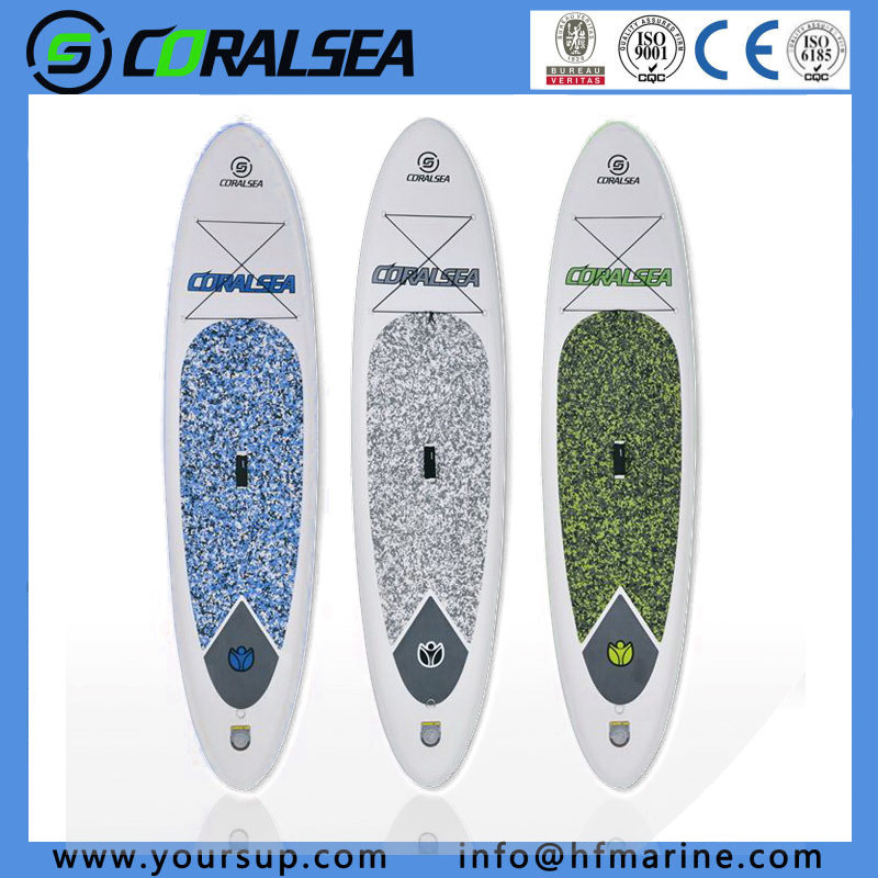 "PVC/PVC Material/EVA/EVA Material/PVC Drop Stitch Bodyboard for Sale (Camo10′6"")"