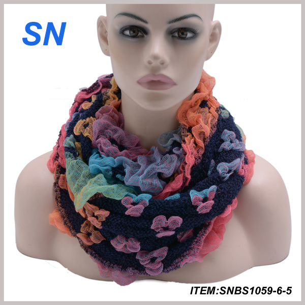 2015 Latest Fashion New Design Winter Snood Scarf for Women