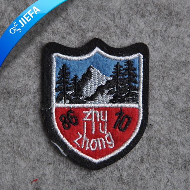 Fashion Custom Garment Embroidery Patch for Clothing
