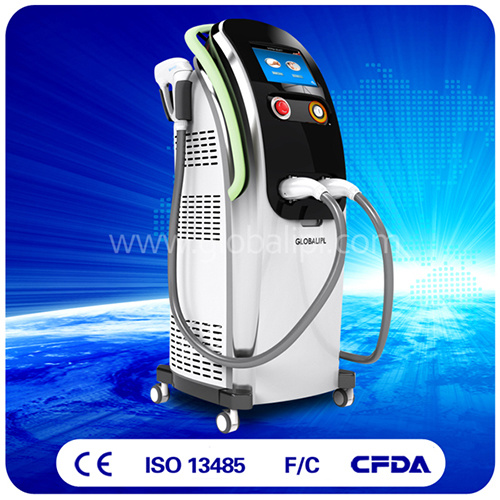 24 Hours Working IPL+Diode Laser Beauty Machine for Hair Removal