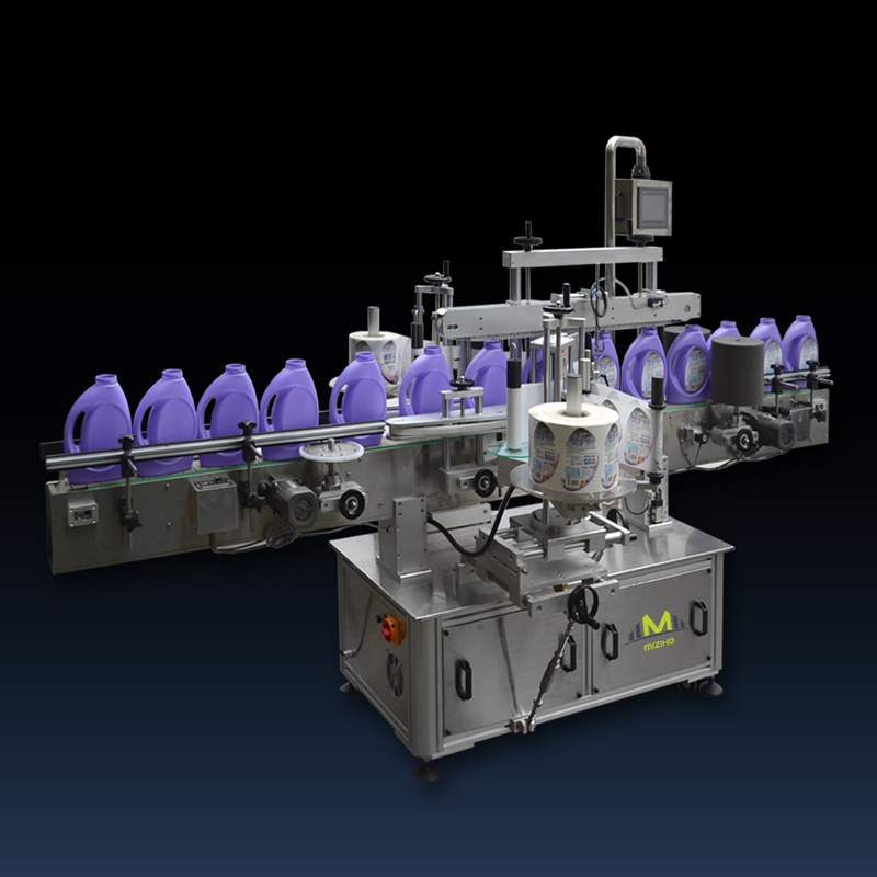 Automatic Double Side Flat Bottle Labeling Packing Machine
