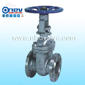 API Cast Steel Flanged Gate Valve (Z40Y-2500LB)