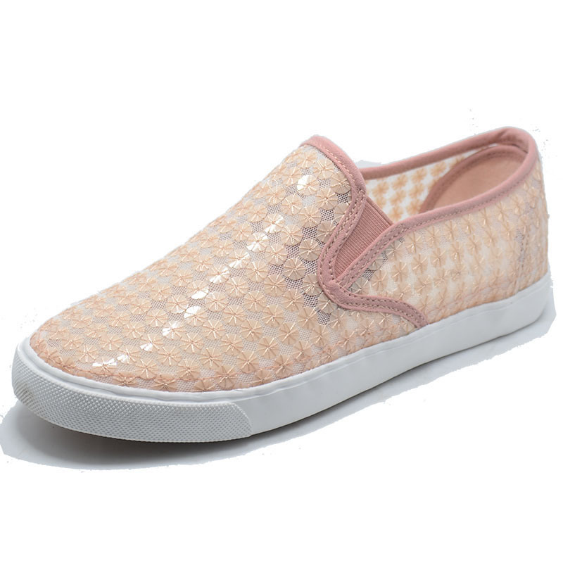 2017 Women Summer Lace New Lady Girl Canvas Shoes