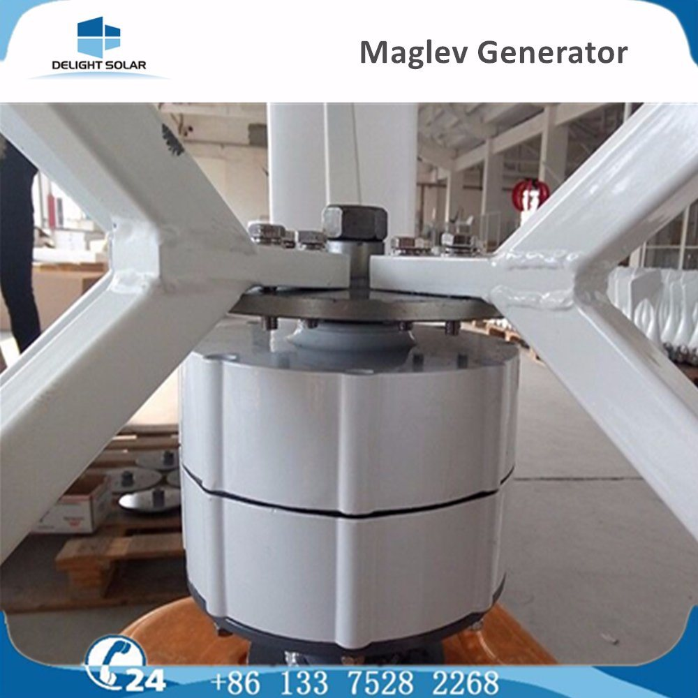 Manufacturer Ce/RoHS/FCC Vertical Axis Maglev Wind Power Generator Turbine