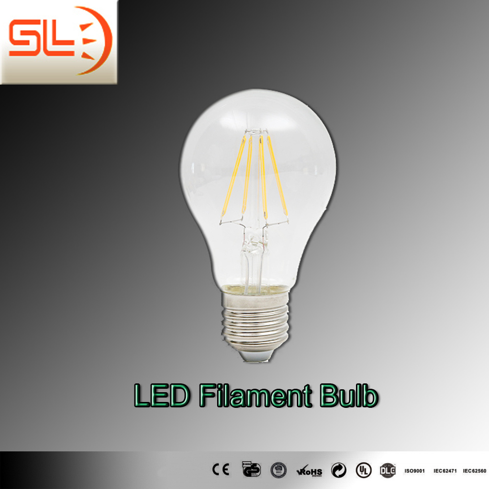Slba60 LED Filament Bulb Light CE SAA