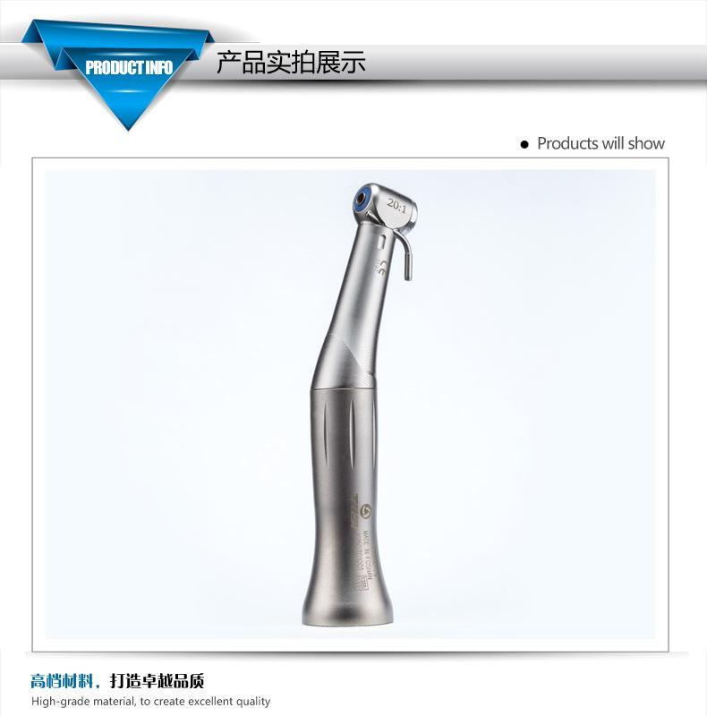 Tosi 20: 1 Implant Contra Angle K Type Handpeice