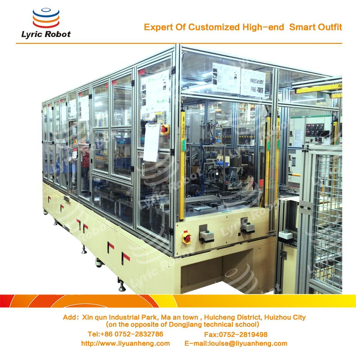 Heater Exchanger Automatic Assembly Machine