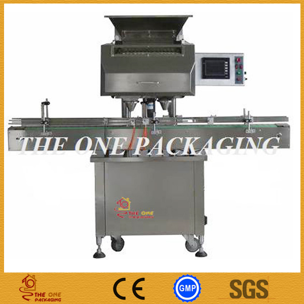 Two Heads Tablets Counter/Capsules Counting and Filling Machine